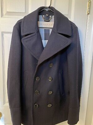 $299 • Buy 100% Authentic Burberry Peacoat Size Large. Great Condition