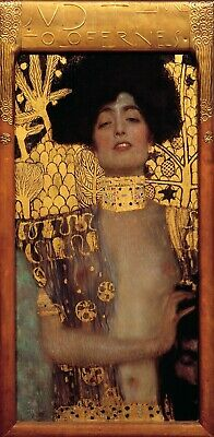 $ CDN6.90 • Buy JUDITH I GUSTAV KLIMT PAINTING WALL DECOR Print Poster Wall Art Picture A4 +