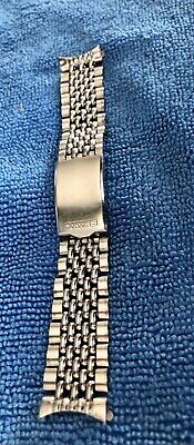 $ CDN119.93 • Buy Seiko Watch Band 18 Mm Rice Beads Vintage 1970 For Diver Watch Brazalet