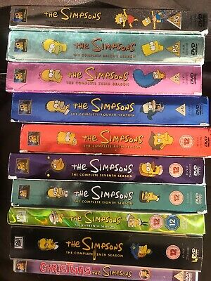 The Simpsons Seasons 1 2 3 4 5 6 7 8 9 10 11 15 DVD Boxsets Choose From List • 3.99£
