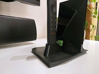 $ CDN29.81 • Buy Nvidia Shield TV Pro Stand With Remote Holder 2017/2019 - Updated Design!