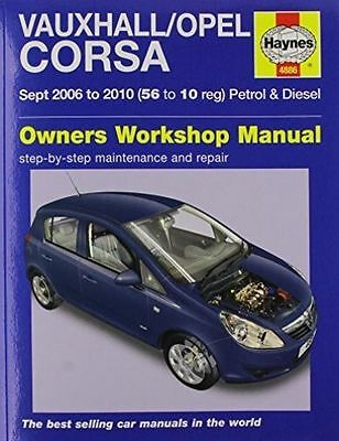 Vauxhall/Opel Corsa Service And Repair Manual By Haynes Publishing Group... • 11.90£
