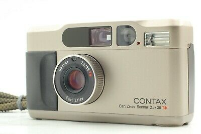 $ CDN1109.33 • Buy 【 N MINT+++ W/ NECK STRAP 】 Contax T2 Point & Shoot 35mm Film Camera From JAPAN