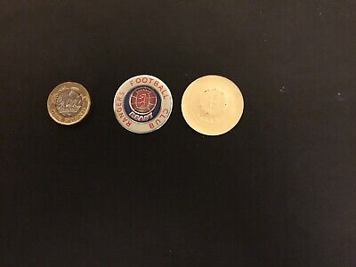 ESSO FOIL FOOTBALL CLUB BADGE RANGERS Unused  NOT A PIN BADGE • 1.99£
