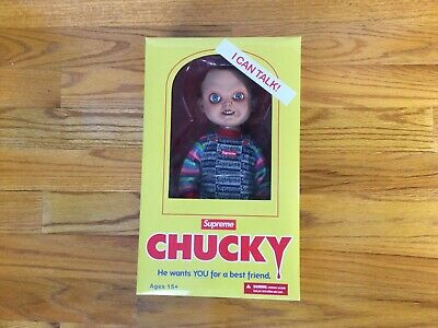 $ CDN378.87 • Buy NEW Supreme Chucky Doll Box Logo FW20 100% Authentic IN HAND