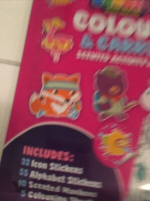 £2 • Buy Girls Smiggle Stationery Carry & Colour Scents Crazy Critters
