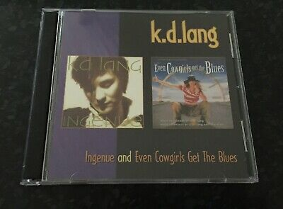 AU10 • Buy K.D. Lang - Ingenue & Even Cowgirls Get The Blues - 2 CD