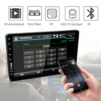 $112.79 • Buy 9'' 2Din Touch Screen Bluetooth USB Car Radio Stereo MP5 Player For Android&IOS