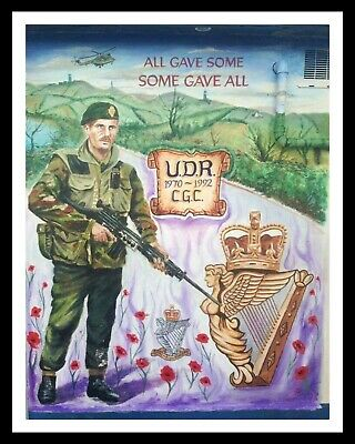 £6.99 • Buy Ulster Defence Regiment Remembrance Day Poppy Poppies Metal Plaque Sign R60