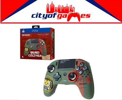 AU259.95 • Buy Nacon Revolution Pro Unlimited Wireless Cold War Edition Controller For PS4