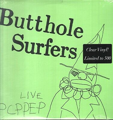 £19.99 • Buy Butthole Surfers - Live PCPPEP - Alternative Tentacles CLEAR Vinyl SEALED