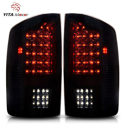 $92.49 • Buy For 2002-2006 Dodge Ram 1500 2500 3500 LED Rear Tail Lights Lamps Red LH&RH US