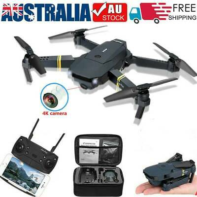 AU48.99 • Buy Drone X Pro WIFI FPV 4K HD Camera Foldable Selfie RC Quadcopter Wide Angle Gift