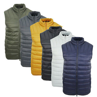 £13.99 • Buy Men's Top UK Brand Insulated Quilted Bodywarmer Resistant Padded Base Warm Gilet