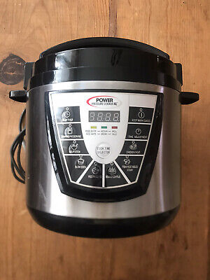 $ CDN68.74 • Buy Power Pressure Cooker XL 6-Qt. Quart One Touch Cooking As Seen On TV PPC770
