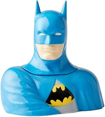 Enesco DC Comics Ceramics Batman Cookie Jar Canister, 10.75 Inch, Multicolor • 43.38£
