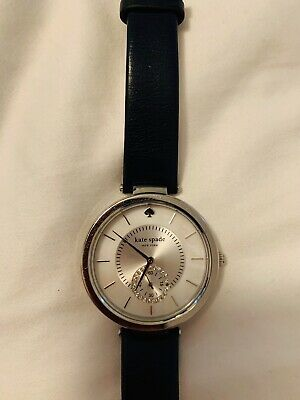 $ CDN51.02 • Buy Kate Spade Women's Navy Blue Leather Watch With Mother Of Pearl Face