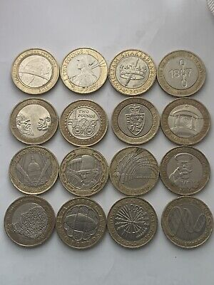 £60 • Buy Job Lot Of £2 Coins  16 X Collectable Two Pound Coins..
