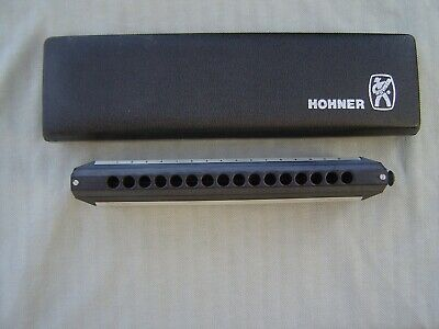$297.95 • Buy Very Clean M. Hohner   Professional 2016 Cbh  Chromonica In  C  & Storage Case