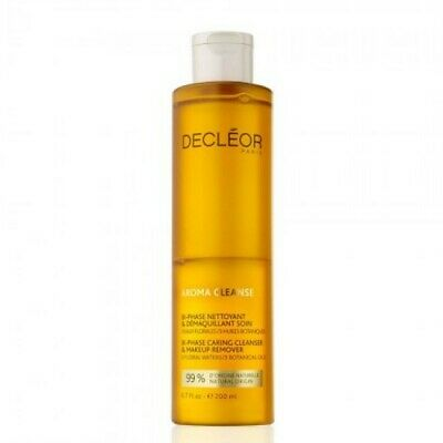 Decleor Aroma Cleanse Bi Phase Caring Cleanser & Make Up Remover 200ml, New • 13£