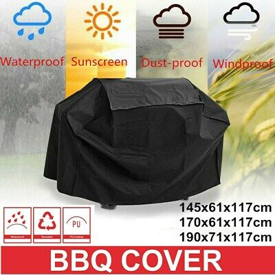 AU20.99 • Buy BBQ Cover 2-6 Burner Waterproof Outdoor UV Gas Charcoal Barbecue Grill Protector