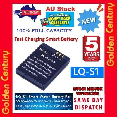 AU27.95 • Buy New Lq-s1 3.7v 5a Smart Watch Dz09 Battery Replacement Li-ion Polymer Battery