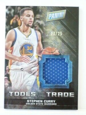 AU62.77 • Buy 2016 Panini Tools Of The Trade Stephen Curry #/25 Golden State Warriors