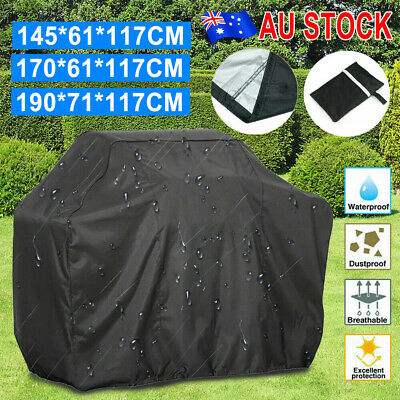 AU23.99 • Buy BBQ Cover 2/4/6 Burner Waterproof Outdoor Gas Charcoal Barbecue Grill Garden UV