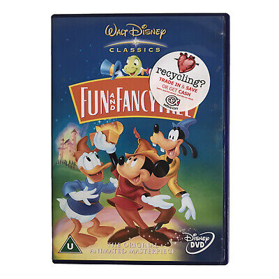Fun And Fancy Free (DVD, 2002, Live Action / Animated) Disney Classic • 3.24£