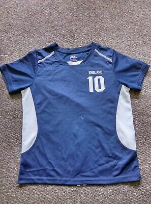 England Football Kit Shirt & Shorts -kids - Size 8-10 Years Old - Good Condition • 11.99£