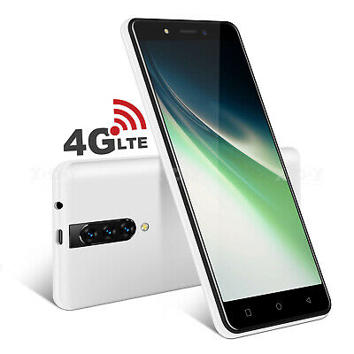 AU98.30 • Buy 16GB Unlocked Android 9.0 4G Smartphone Dual SIM Mobile Phones Quad Core Cheap
