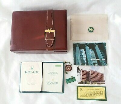 $ CDN1819.73 • Buy Rolex Day-Date 1970s Box Warranty Your Rolex Booklet Manual Holder Tags 1975 Set