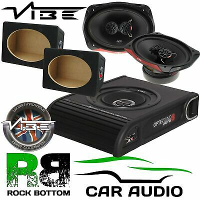 Ford Transit Connect Van Vibe 900W Underseat Sub & 960 Watts 6X9 & MDF Boxes • 199£