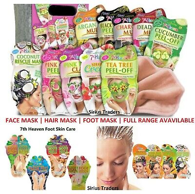 £1.89 • Buy 7th HEAVEN FACE MASKS & PEELS - OFF-FOR ALL SKINS TYPES - FOOT & HAIR MASKS