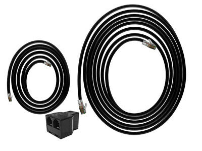 TrolMaster Hydro-X Grow Room Add-On Connection Accessories Cable Set Splitter • 12.15£