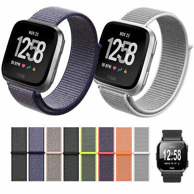 $ CDN6.97 • Buy For Fitbit Versa 2 Replacement Nylon Fabric Durable Soft SmartWatch Band Strap