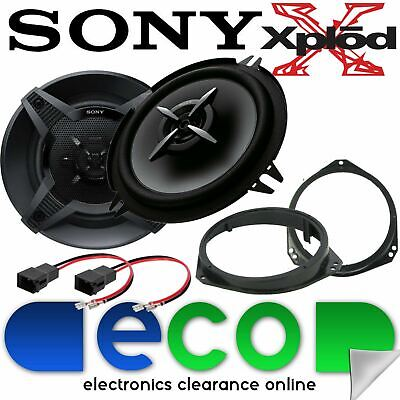 Vauxhall Corsa C Combo 2000-06 SONY 13cm 460 Watts 2 Way Front Door Car Speakers • 39.99£