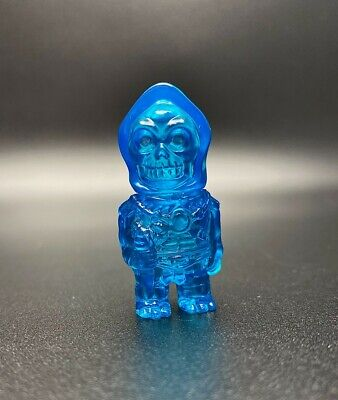 $30 • Buy Motu Masters Of The Universe Super7 Skeletor Micro Sofubi Blue Transparent