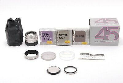 $ CDN582.35 • Buy *MINT IN BOX* CONTAX Carl Zeiss Planar 45mm F/2 T* Lens For G1 G2 From JAPAN
