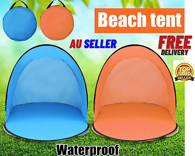 AU28.97 • Buy Mountview Pop Up-Tent Camping Beach Tents 3 Person Portable Hiking Shade Shelter
