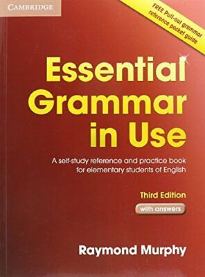 £19.80 • Buy Essential Grammar In Use With Answers By Raymond Murphy