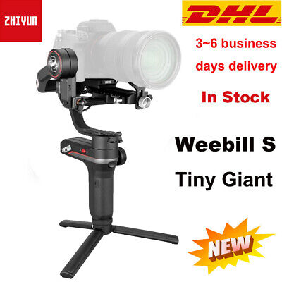 AU399 • Buy Zhiyun Weebill S 3-Axis Gimbal Handheld Stabilizer For DSLR & Mirrorless Cameras