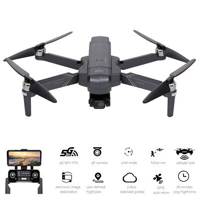 AU298.60 • Buy SJRC F11 4K PRO RC Drone With Camera 4K 2-axis Gimbal Brushless Motor 5G D7Q3