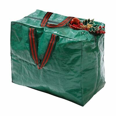 Christmas Tree Decorations Storage Bag Lights Baubles Large Zip Up Sack Xmas • 4.75£