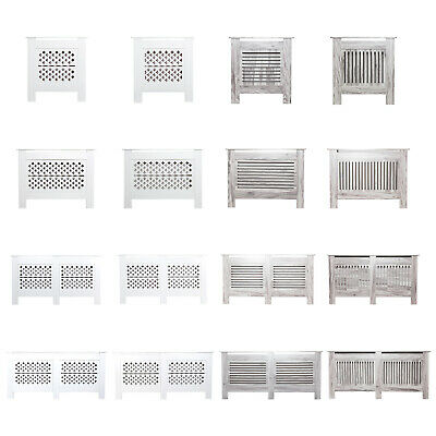 Modern Radiator Cover Wall Cabinet Wood MDF Grill Shelf Traditional Furniture • 33.90£