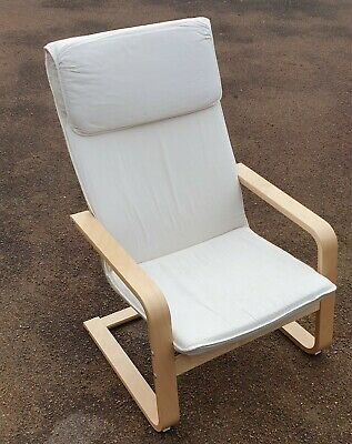 IKEA PELLO Armchair Chair Padded Seat   • 25£
