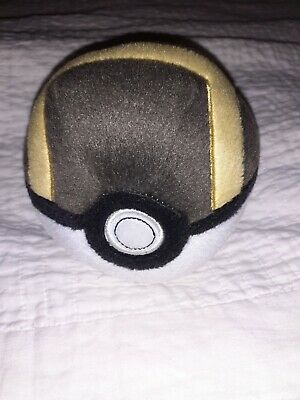 Pokemon Plush Ball Brown 5  Genuine Tomy Good Condition • 5.99£