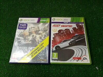 £7.12 • Buy Kinect Steel Battalion Heavy Armor And Need For Speed  Most Wanted Sensor Games