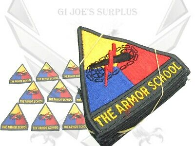 $14.99 • Buy Lot Of 10 New Vintage NOS Military US Army Armor School Shoulder Patches 5G2