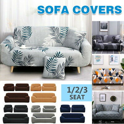 AU17.99 • Buy New 1/2/3/4 Seater Furniture Comfortable Floral Elastic Sofa Cover Stretch Couch